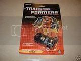 Transformers G1 Spakabots SIzzle MOSC